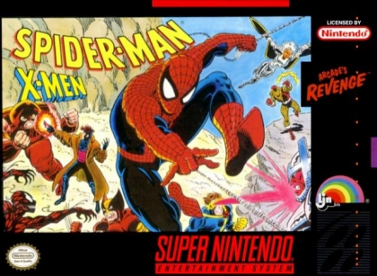 Spider-Man & X-Men : Arcade's Revenge [USA] (Beta) image